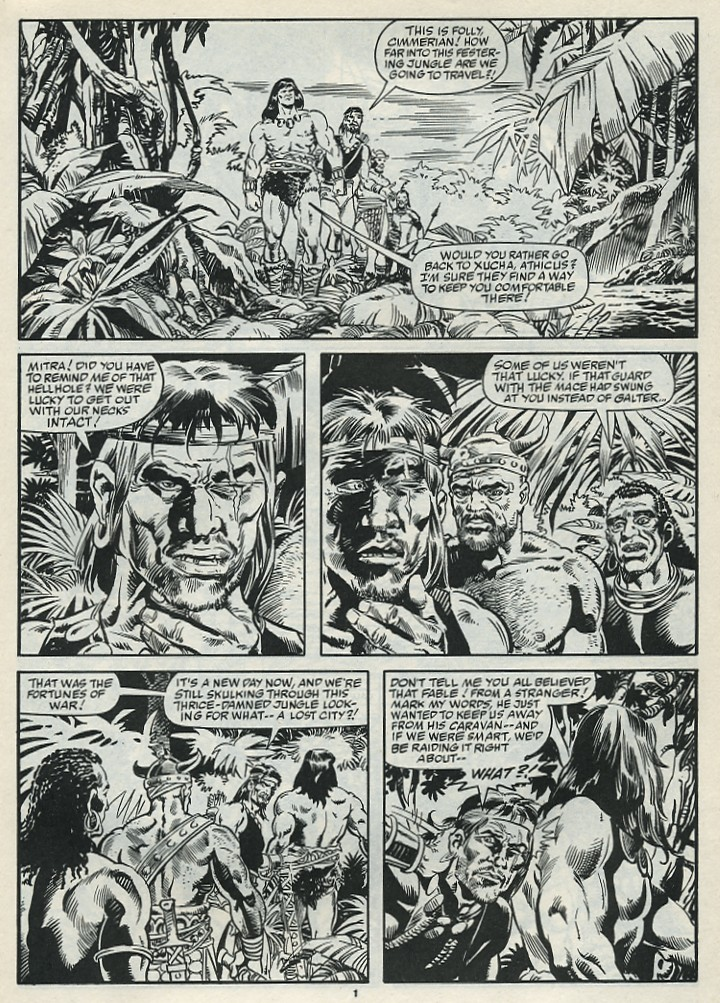 The Savage Sword Of Conan Issue #182 #183 - English 3