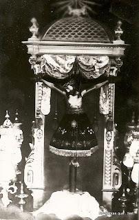 antigua foto del Cristo de Candelario Salamanca