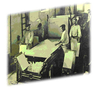 candelario maquina del papel