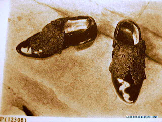 Zapatos antiguos de Candelaria