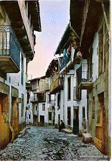 Antigua calle Fría de Candelario Salamanca