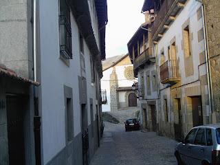 calle del doctor Espina de Candelario Salamanca