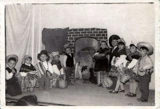 Comedia en Candelario Salamanca el año 1962