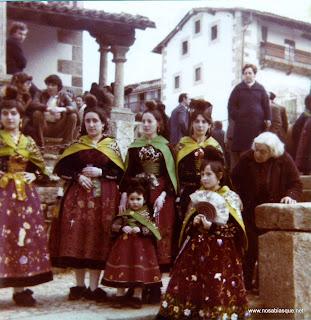 Candelarias en la Ermita de Candelario