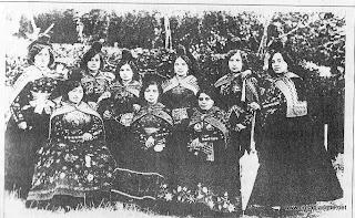 Candelarias que acompañaron a S.A.R. la infanta Isabel