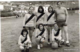 futbol femenino en Candelario Salamanca
