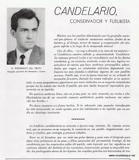 Candelario conservador y futurista