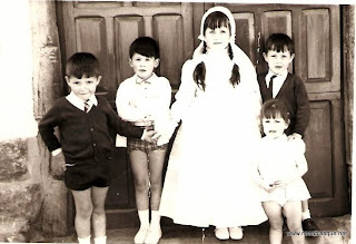 De primera comunión en Candelario Salamanca