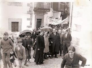 Visita de Fraga a Candelario Salamanca 3