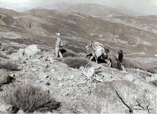 Subiendo a la sierra de Candelario salamanca