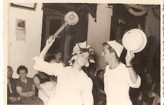 Candelario Salamanca, Baile en el Casino Obrero