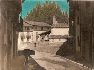 Candelario Salamanca, calle Mayor y la Ermita