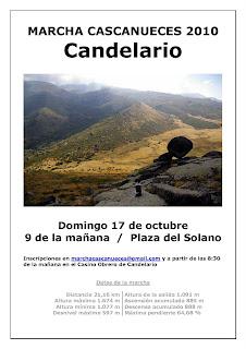 Cartel de la marcha Cascanueces 2010 de Candelario Salamanca