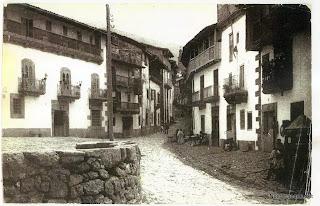 Candelario Salamanca callemayor y garita del fielato