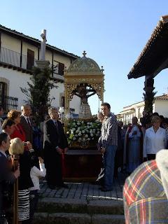 Candelario Salamanca la muda del Cristo año 2010