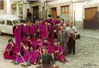 Candelario Salamanca los quintos del 82 en el Solano