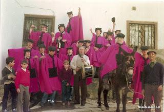 Candelario Salamanca los quintos del 82 en La Cruz de Piedra