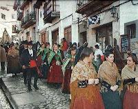 Candelario Salamanca procesion de la Candelaria