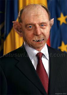 Traian Basescu Gollum