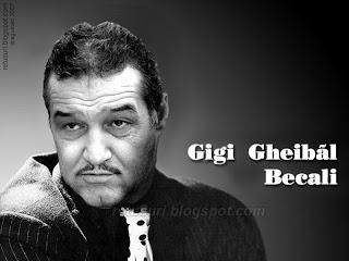 Gigi Becali - Clark Gable