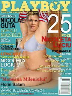 Nicoleta Luciu in Playboy