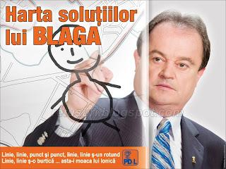 Vasile Blaga - Campania de la primarie
