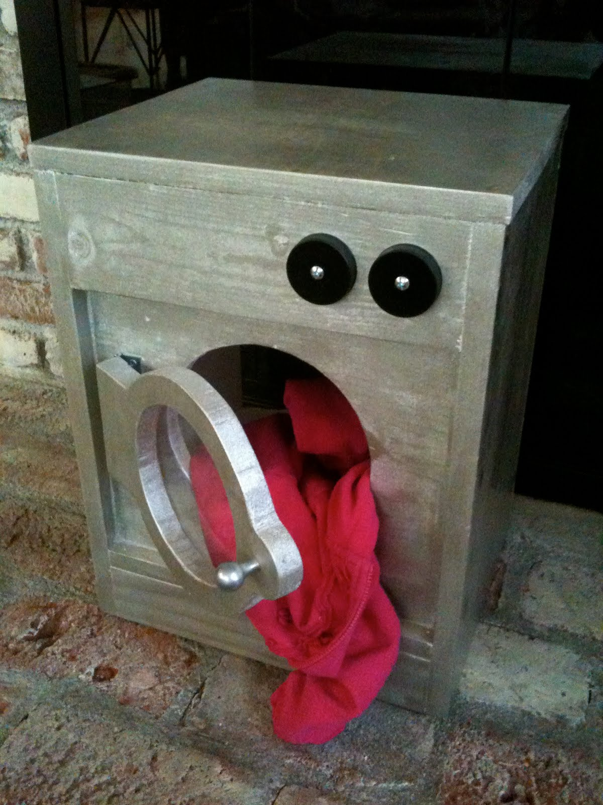 made pieces for reese pretend play wooden washing machine. Black Bedroom Furniture Sets. Home Design Ideas