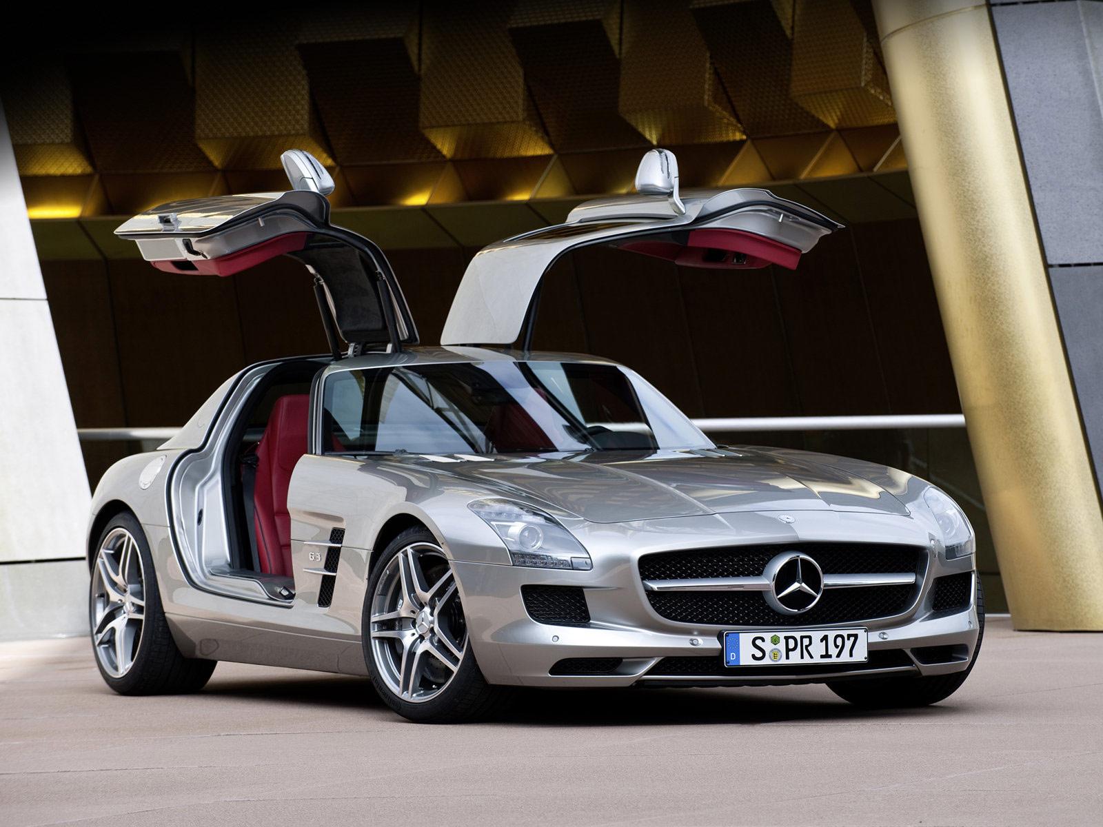 Super luxury car super car mercedes benz sls amg 2011 for Mercedes benz supercar