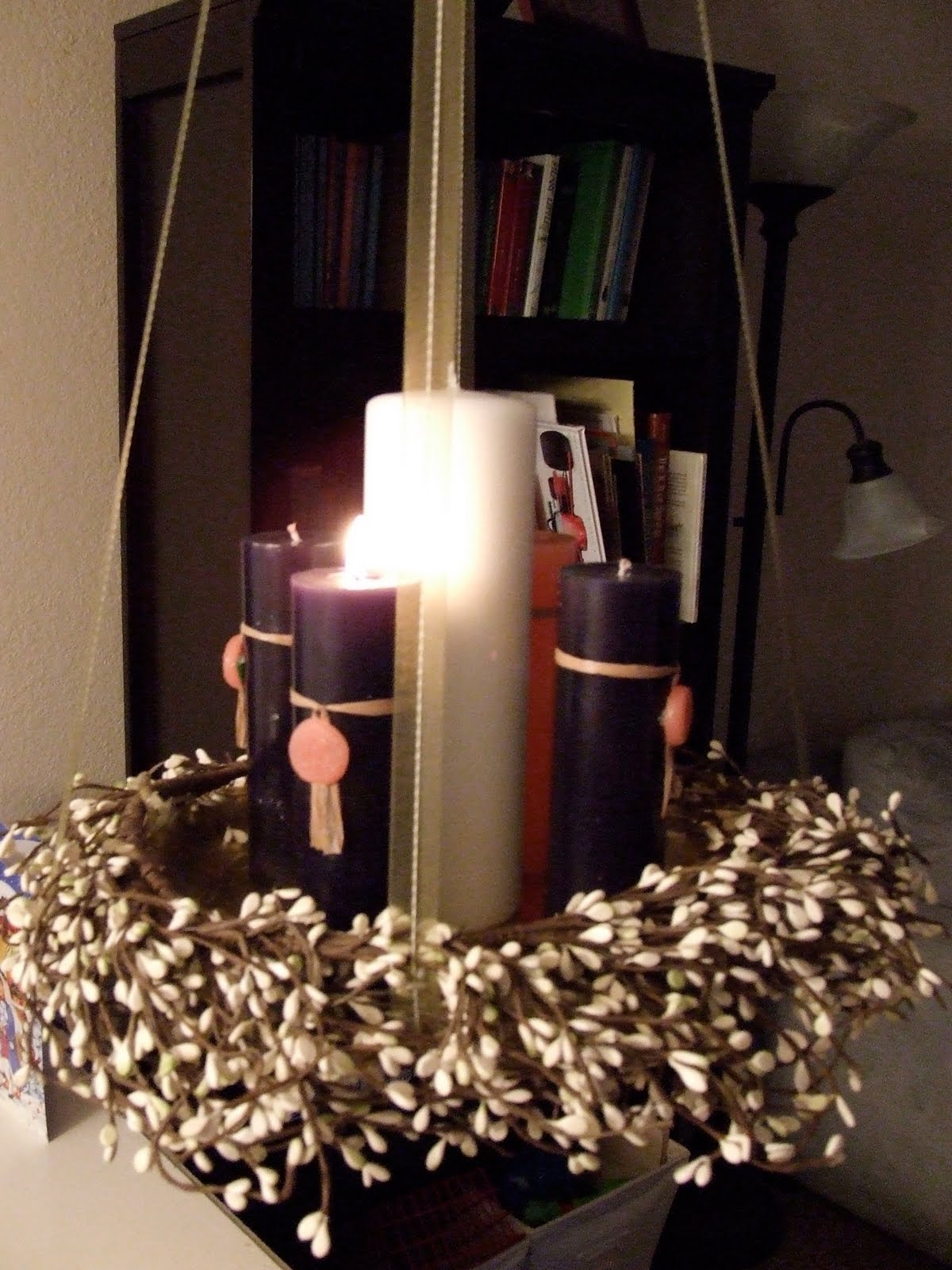 Waltzing matilda advent plans and decorations for Advent decoration ideas