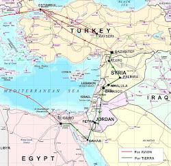 El Itinerario de Turquia 2010