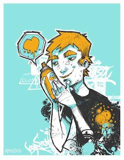 Buzz graffiti sketch art the wand and enjeru design - Graffiti zimmerwand ...