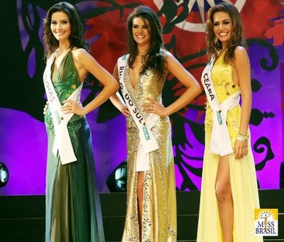 Melanie Nunes Fronckowiak - Miss Brazil 2007 Runner-up