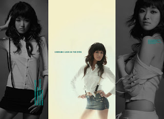 Miss World China 2008 Yan Ling Mei Wallpaper