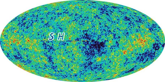 Stephen Hawking's initials in the WMAP sky, secret masters of the universe, CMB anomalies