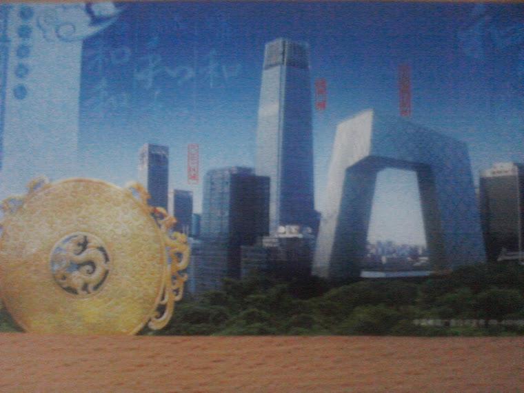 Kaart gekregen uit China