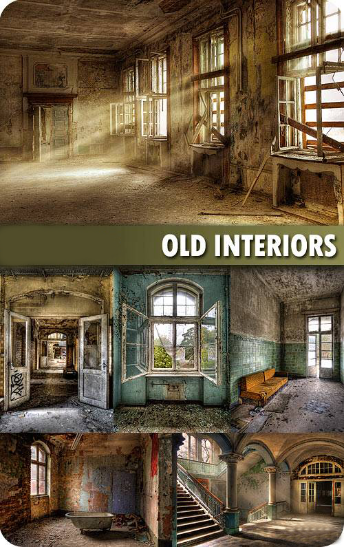 Download Old House Interiors ~ photoshop