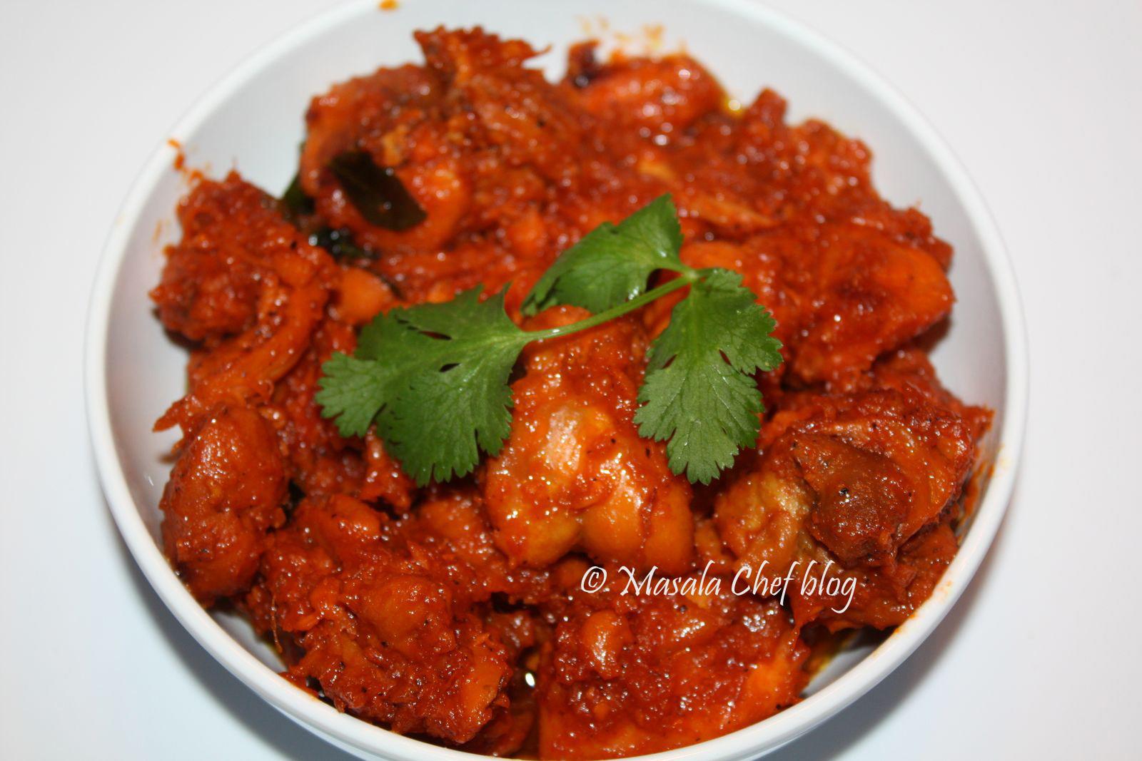 Ginger Chicken - Hyderabadi Style