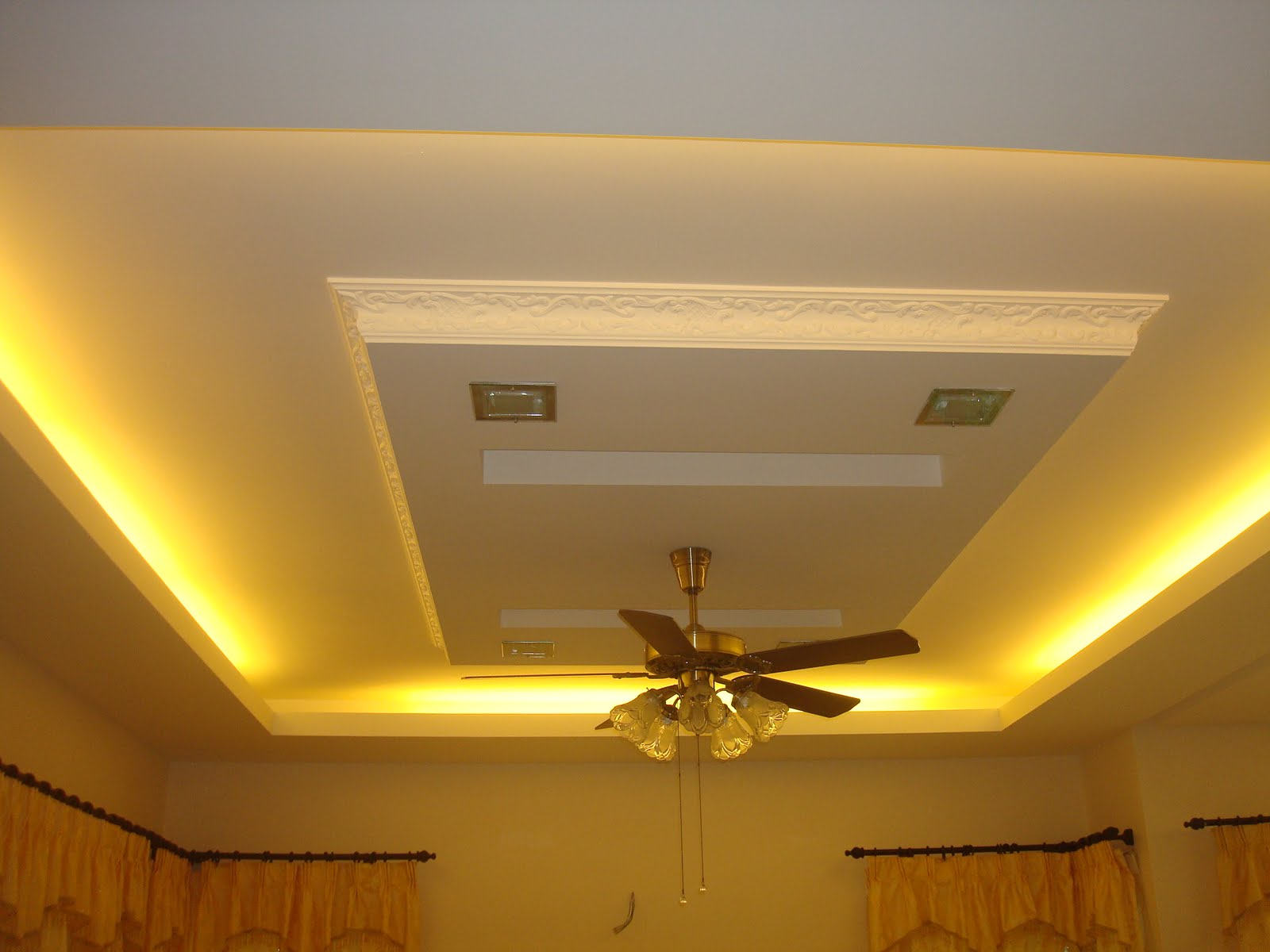 Hana Design Amp Construction Plaster Ceiling