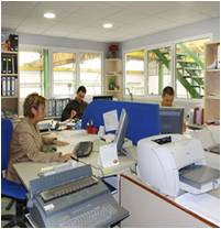 Ingenier a al d a riesgos en oficinas for Oficinas de ing