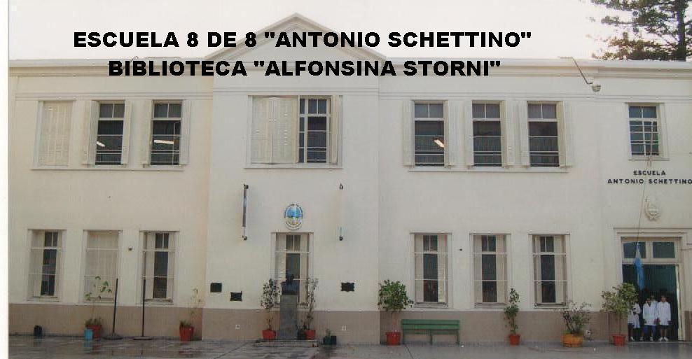 ".BIBLIOTECA ""ALFONSINA STORNI"" ESCUELA 8 DE 8º"
