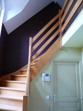 les couleurs de clarisse la maison de mich le le hall d 39 entr e. Black Bedroom Furniture Sets. Home Design Ideas