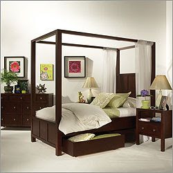 Canopy Beds, Bedroom Sets: Wood, Metal, Contemporary