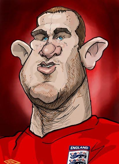 Wayne Rooney Caricature