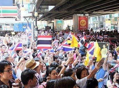 Bangkok #2 — Silom Road demo