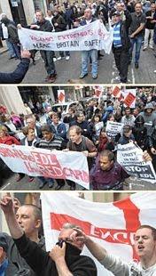 EDL: Birmingham demo