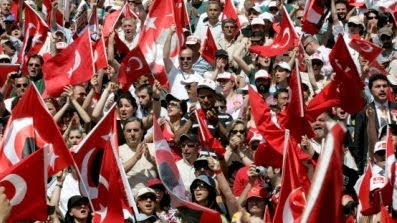 Turkish demonstration