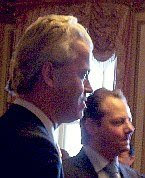 Geert Wilders and Barry Medlener