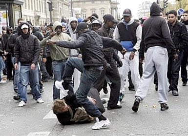 Paris riots 1