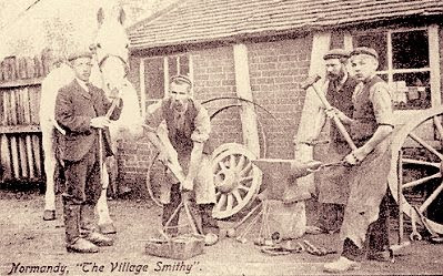 The village smithy