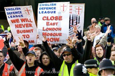 EDL demo, London
